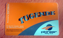 Tugende Easy Card